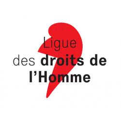 Drapeau la Ligue des droits...