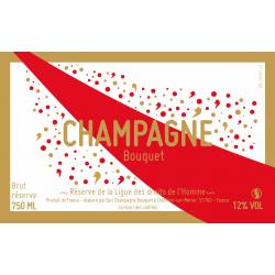 Champagne LDH livré