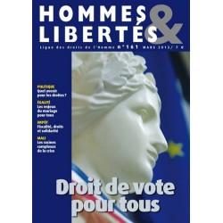 Hommes & Libertés n°161 -...