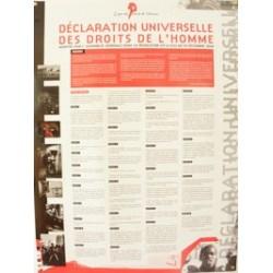 Affiche de la Déclaration...